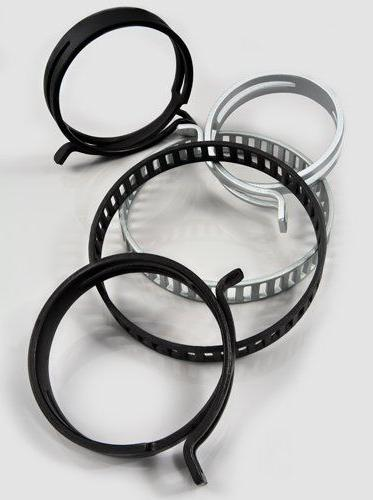 Zinc flake clamps