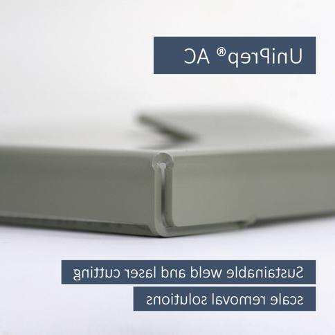 安泰推出UniPrep®AC, 可持续的焊接和激光除垢产品系列  通用金属抛光