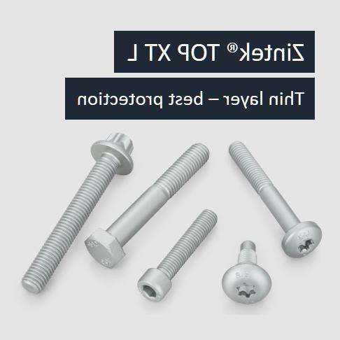 锌片表面涂层Zintek®top XT L -薄层,最好的保护
